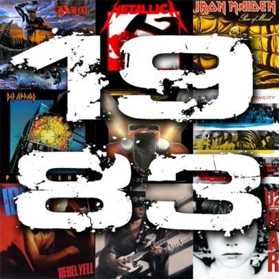 O melhor do rock em 1983