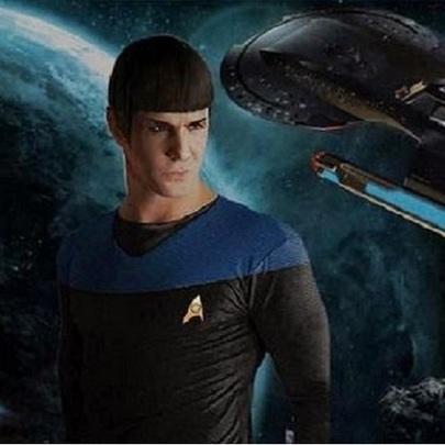 Faça parte do universo Star Trek em Star Trek...