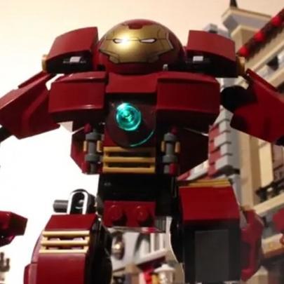 Versão épica de Vingadores 2 feita com Lego