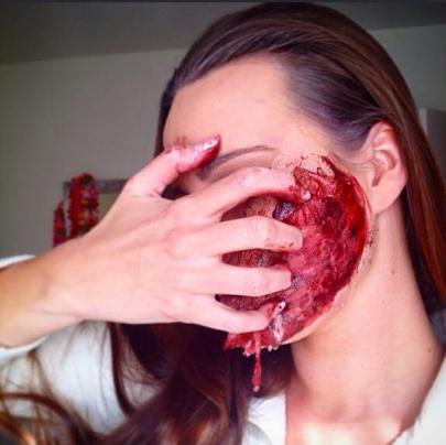 As maquiagem mais assustadoras e arrepiantes d...