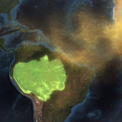 Areia do Saara na floresta amazônica? É poss...