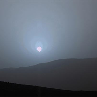 Conheça o incrível pôr-do-sol em Marte!