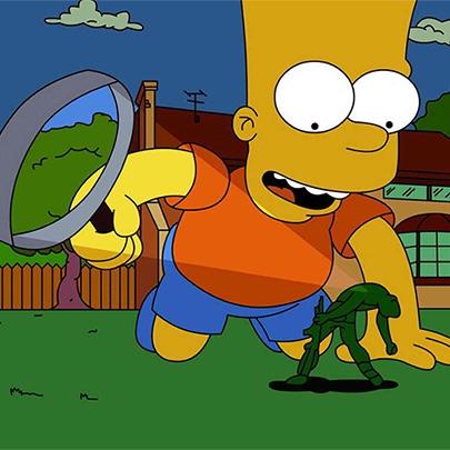 Acredite ou não, na Inglaterra Bart Simpson f...