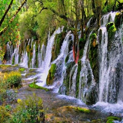 Lugares espetaculares, cachoeira de Nuorilang,...