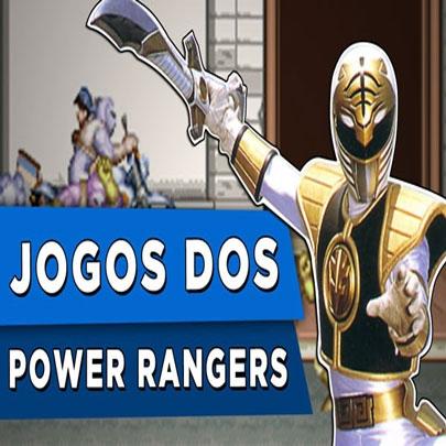Top jogos dos Power Rangers