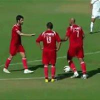 O gol de falta mais bonito do mundo!