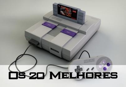 Os 20 melhores jogos do Super Nintendo