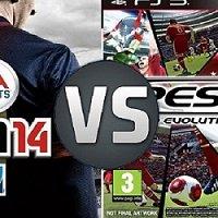 FIFA 14 vs PES 2014: Qual o melhor?