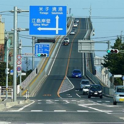Conheça a bizarra ponte de Eshima Ohashi, no ...