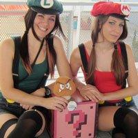 Quem você escolhe? Mario ou Luigi?