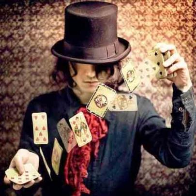 Faixa preta em truques de cartas