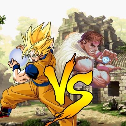 Ryu Vs Goku