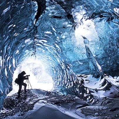 As Cavernas congeladas da Islândia