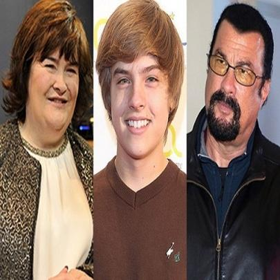 Os empregos surpreendentes de 10 celebridades ...